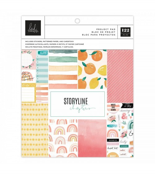 Heidi Swapp - Storyline Chapters - Project Pad The Journaler