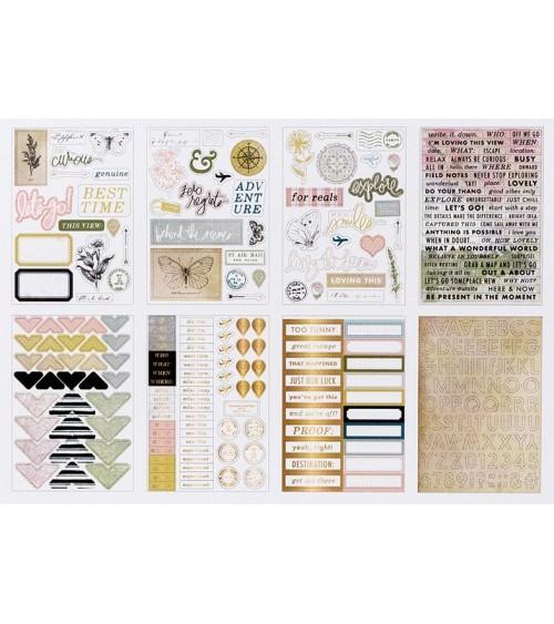 Heidi Swapp - Storyline Chapters - Mini Sticker Book The Journal
