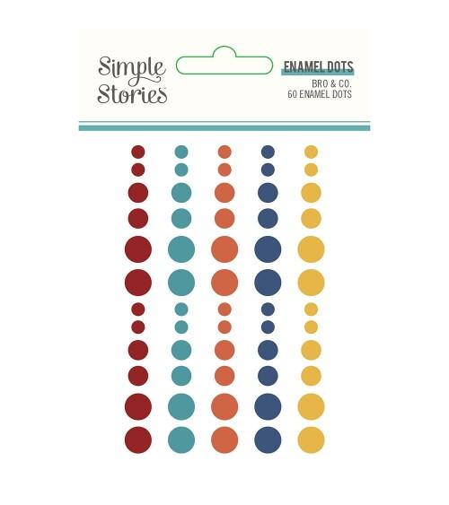 Simple Stories - Bro & Co. - Enamel Dots