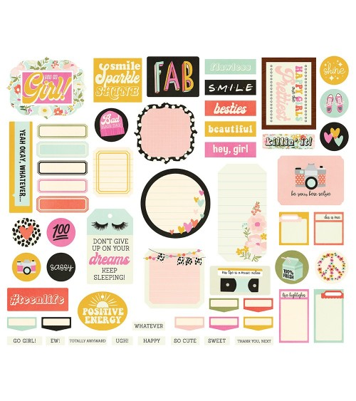 Simple Stories - Kate & Ash - Journal DieCuts Bits&Pieces
