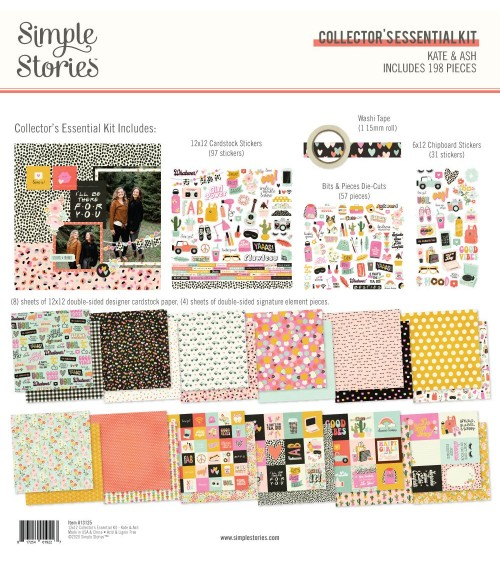Simple Stories - Kate & Ash - Collector's Essential Kit