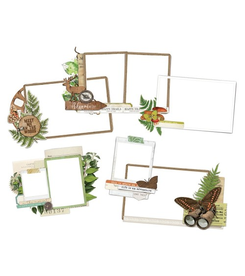 Simple Stories - Simple Vintage Great Escape - Layered Frames