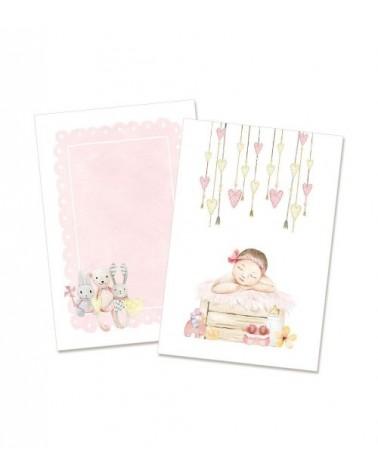 "P13 - Baby Joy - Card Set 4x6"" Girl"