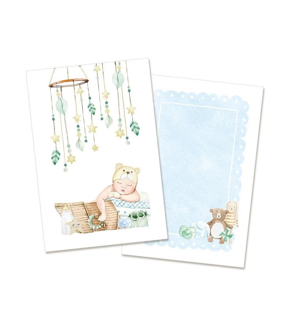"""P13 - Baby Joy - Card Set 4x6"""" Boy"""