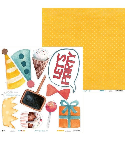 P13 - Happy Birthday -  Paper  1