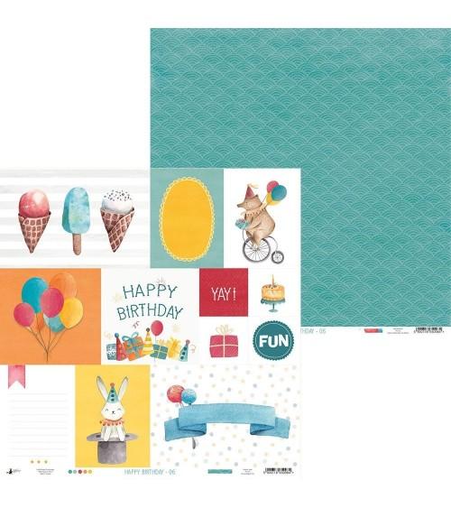 P13 - Happy Birthday -  Paper  6