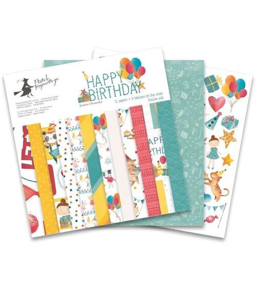 """P13 - Happy Birthday - 12x12"""" Paper Pad"""
