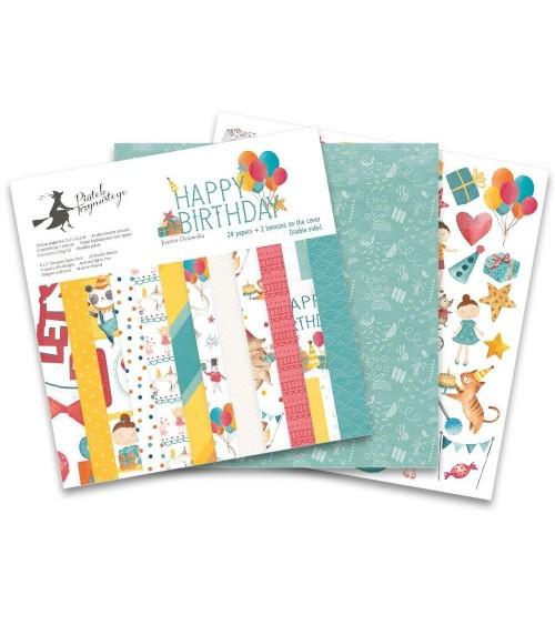 """P13 - Happy Birthday - 6x6"""" Paper Pad"""