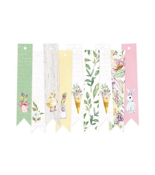 P13 - 4 Seasons Spring - Die Cut Tags  3