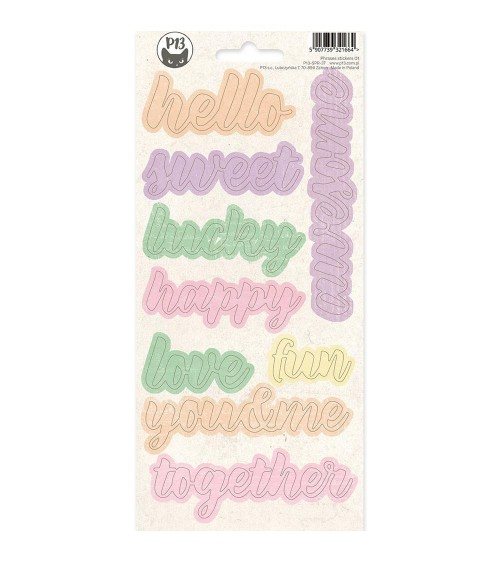 P13 - 4 Seasons Spring - Phrase Sticker  1