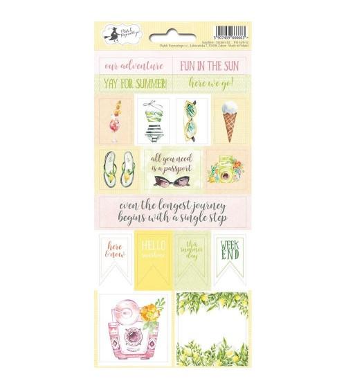 P13 - Sunshine - Cardstock Sticker  2