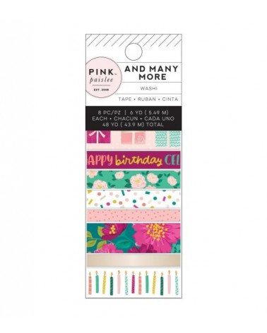 Pink Paislee - And Many More - Washi Tapes