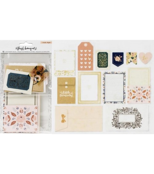 Crate - Fresh Bouquet - Stationery Pack