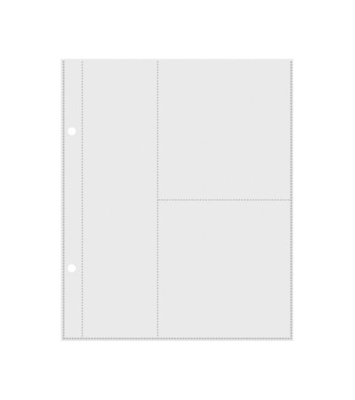 """Simple Stories - Mix & Match - 6x8"""" Page Protectors (2x8"""" & 4x4"""""""