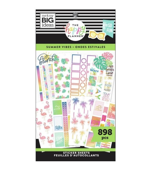 MAMBI - Happy Planner - Sticker Value Pack Summer Vibes