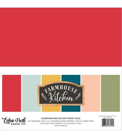 Echo Park - Farmhouse Kitchen - Solids Paper Pack