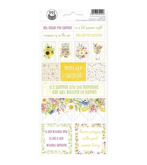 P13 - 4 Seasons Summer - Cardstock Sticker  2