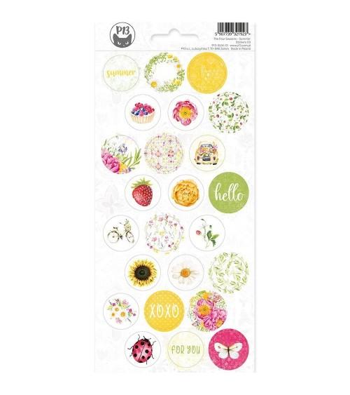 P13 - 4 Seasons Summer - Cardstock Sticker  3