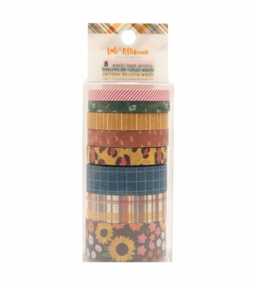 AC - Amy Tangerine Late Afternoon - Washi Tapes