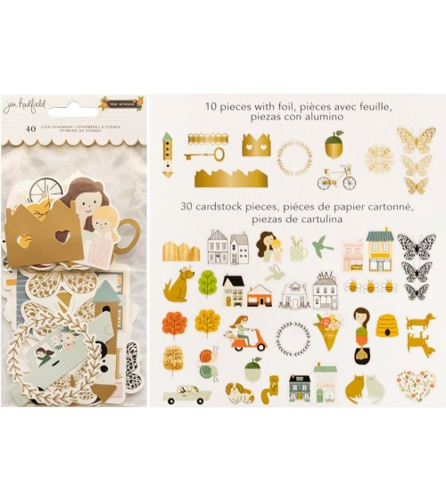 Pebbles - Jen Hadfield The Avenue - Ephemera Pack Icons