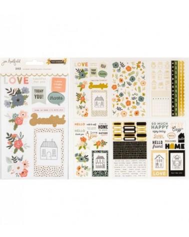 Pebbles - Jen Hadfield The Avenue - Sticker Book