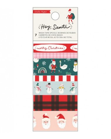 Crate - Hey Santa - Washi Tape Set