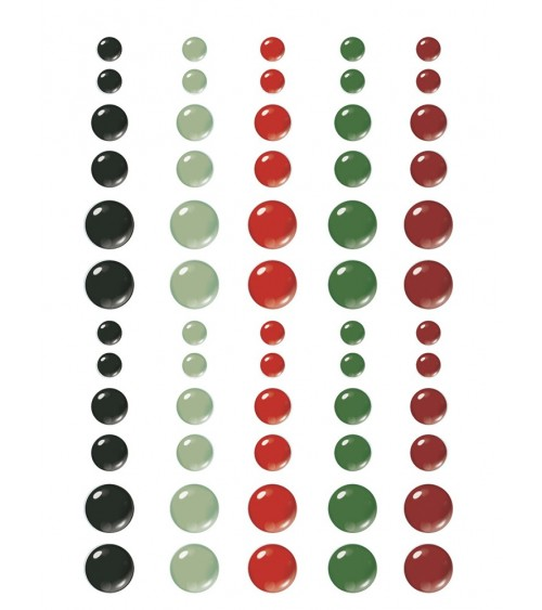 Simple Stories - Jingle All the Way - Enamel Dots
