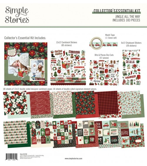 Simple Stories - Jingle All the Way - Collector's Essential Kit