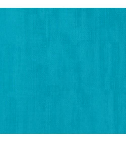"American Crafts Textured Cardstock 12x12"" - Cascade"