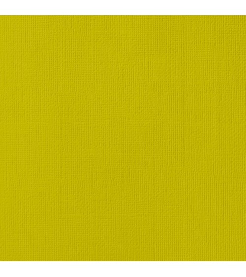 "American Crafts Textured Cardstock 12x12"" - Kale"