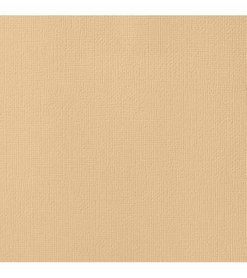 "American Crafts Textured Cardstock 12x12"" - Latte"