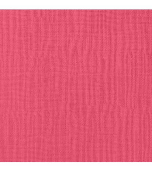 """American Crafts Textured Cardstock 12x12"""" - Lollipop"""