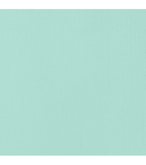 "American Crafts Textured Cardstock 12x12"" - Seafoam"