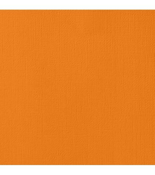 "American Crafts Textured Cardstock 12x12"" - Squash"