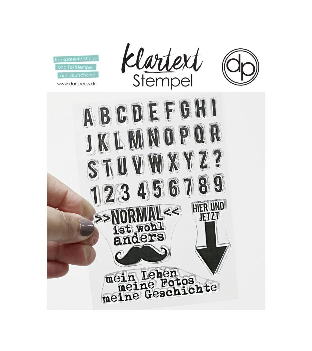 "Klartext-Stempelset A6 ""Normal"""