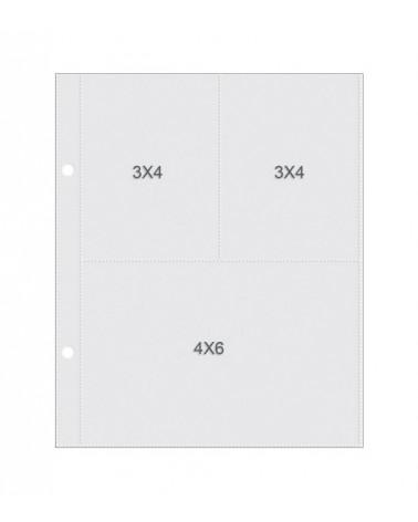 """Simple Stories - SNAP Pocket Pages - 6x8"""" für 3x4 und 4x6 Refill"""