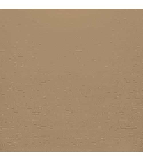 "American Crafts Smooth Cardstock 12x12"" - Dark Kraft"