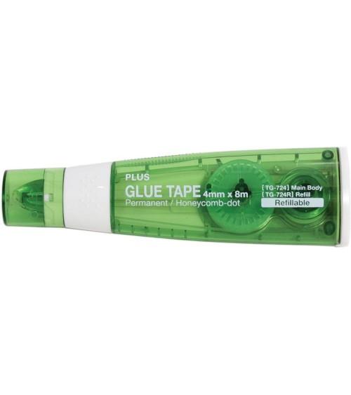 PLUS - Glue Tape Kleberoller TG-724 - 4mm (grün)
