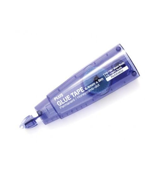PLUS - Glue Tape Kleberoller REFILL TG-728R - 8mm (blau)
