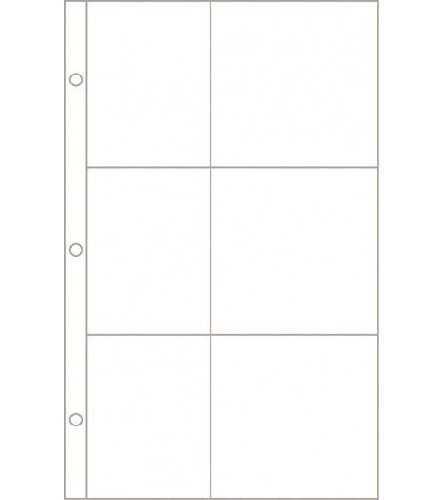 Project Life - Photo Pages/Protectors Design J 12-Pack