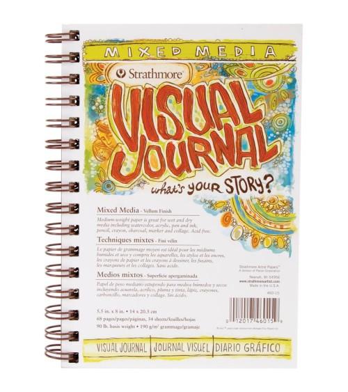 Strathmore Visual Journal Spiral Bound 5
