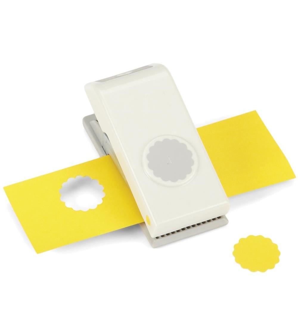 "EK Success Nesting Paper Punch SCALLOP Circle 1""/ 25mm"
