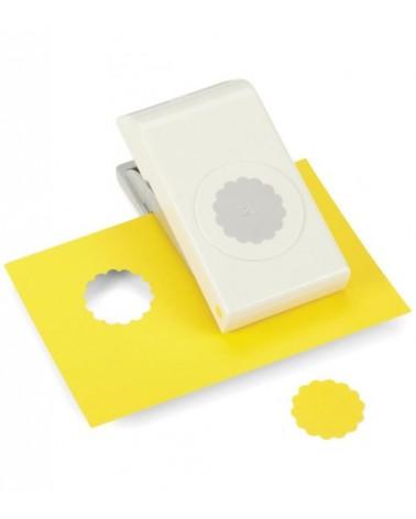 "EK Success Nesting Paper Punch SCALLOP Circle 1.25""/ 32mm"