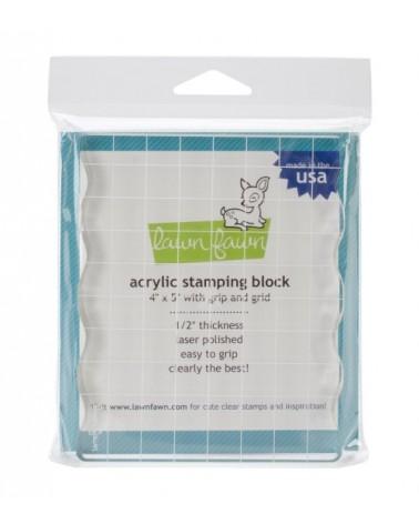 """Lawn Fawn - Acrylblock 4x5"""""""