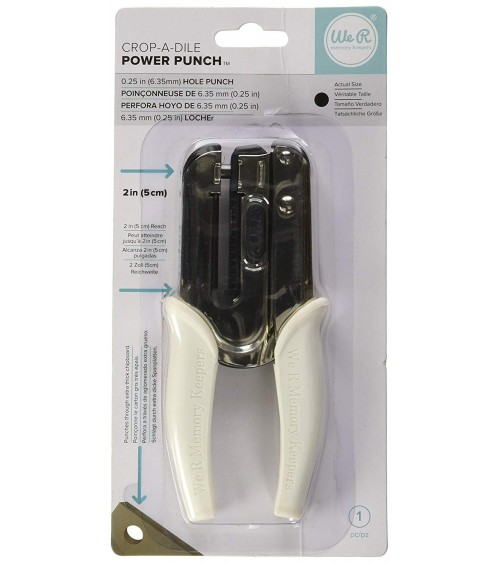 We R Memory Keepers - Crop-A-Dile Power Punch Tool - 1/4""