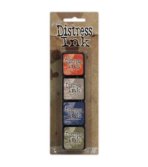 Ranger Tim Holtz Distress Ink MINI Pads - Set 5