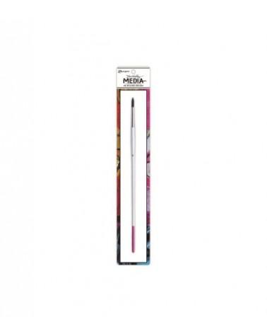 Ranger - Dina Wakley - Stiff Bristle Paint Brush  6 Round