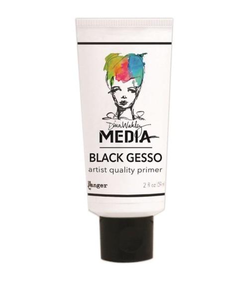 Ranger - Dina Wakley Media - Black Gesso (59 ml Tube)