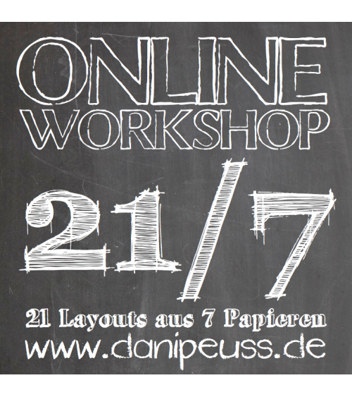 Layout-Online-Workshop - 21/7 Vol. 1 - 21 Layouts aus 7 Papieren