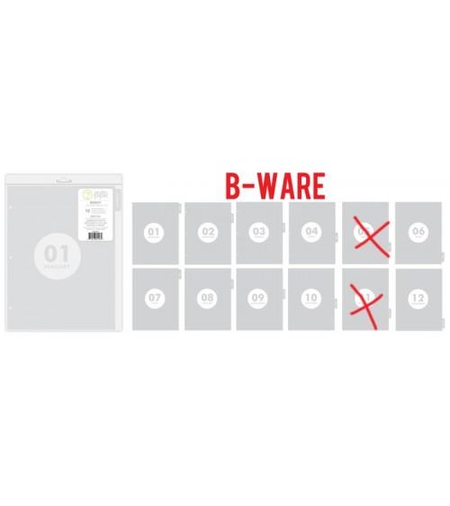 """B-WARE - Studio Calico Seven Paper Darcy Album Dividers 9x12"""" Mo"""